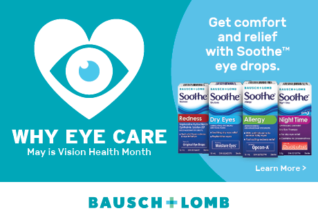 To be sure these products are right for you, always read and follow the label. 2018 Bausch & Lomb Canada, Vaughan (Ontario) L4K 4B4 ©Valeant Canada LP. ®/™ are trademarks of Bausch & Lomb Incorporated or its affiliate